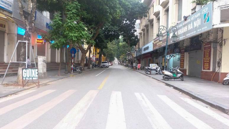 Ảnh: Phố phường Hà Nội vắng như mùng 1 Tết vì dịch Covid-19-4