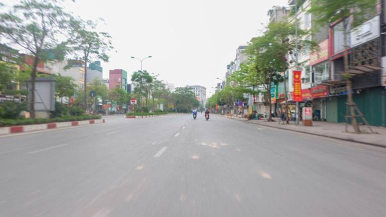 Ảnh: Phố phường Hà Nội vắng như mùng 1 Tết vì dịch Covid-19-9