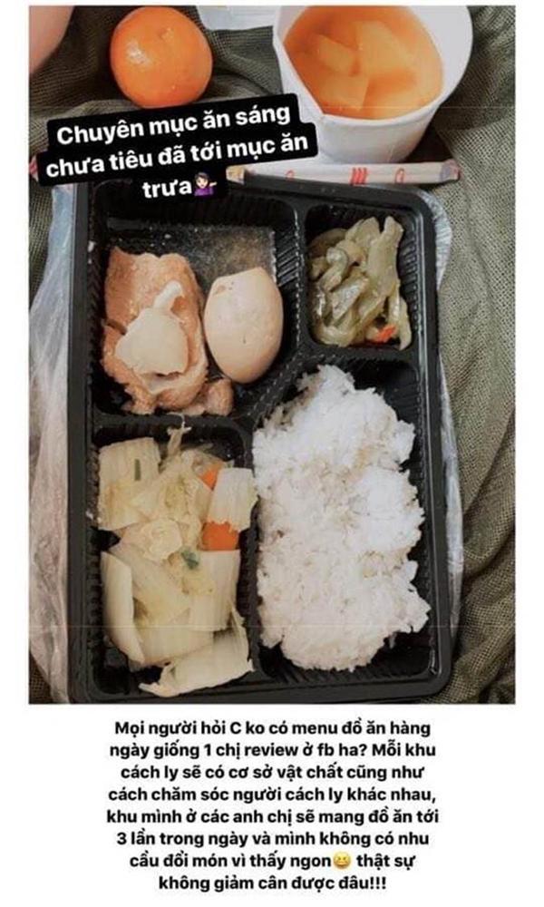 Hotgirl Việt khoe những bữa cơm tuyệt ngon khi cách ly tập trung, fan tấm tắc hơn cả nghỉ dưỡng-5