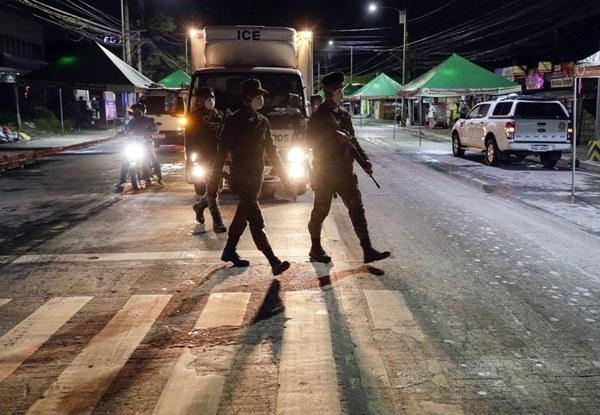 Hàng nghìn cảnh sát, binh sĩ Philippines phong tỏa thủ đô vì Covid-19-4