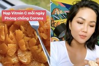 Chia sẻ cách ăn cam có 1-0-2, H'Hen Niê không quên nhắc mọi người chú ý bổ sung vitamin C để tăng sức đề kháng trong mùa dịch