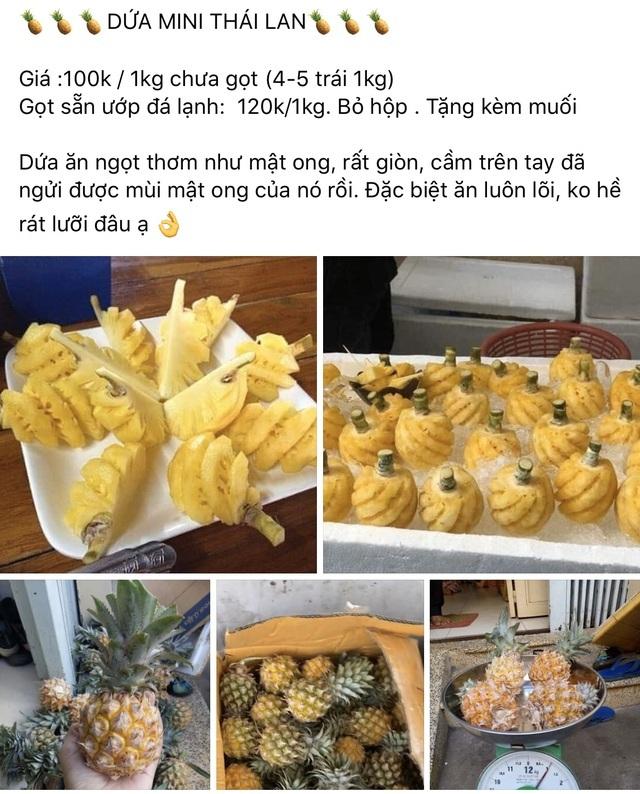 Dân sành ăn đổ xô mua dứa mini Thái giá cao-2