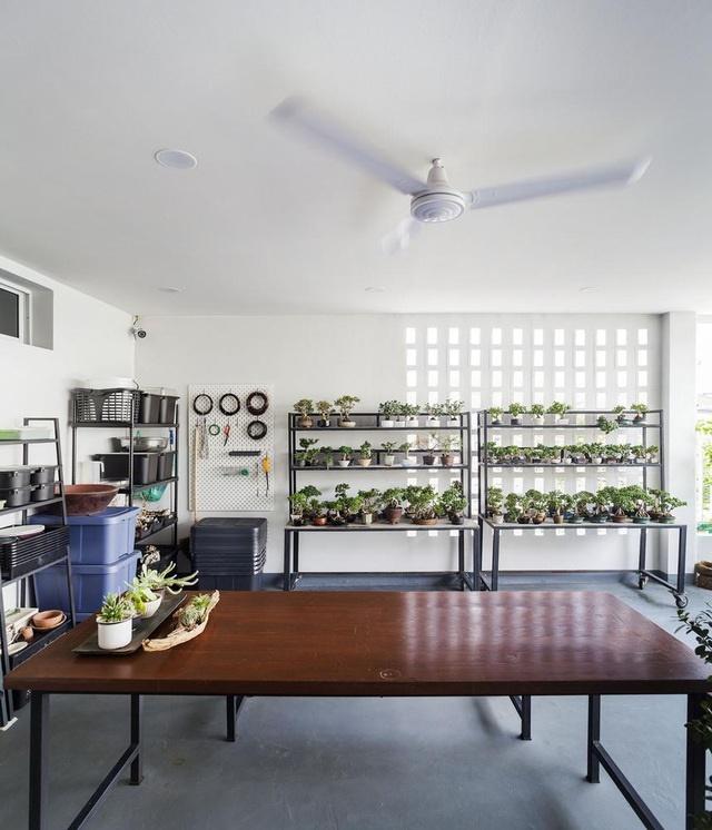 """Choáng ngợp ngôi nhà 300m2 với khu vườn bonsai toàn cây khủng""""-7"""