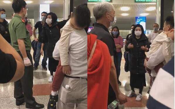 Hồi hương tránh dịch, nhóm hành khách náo loạn sân bay, không chịu cách ly-1