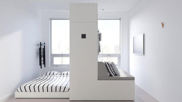 Màn biến hóa không tưởng của những nội thất thông minh cho căn nhà nhỏ-1