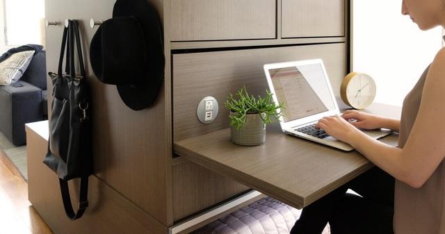 Màn biến hóa không tưởng của những nội thất thông minh cho căn nhà nhỏ-2