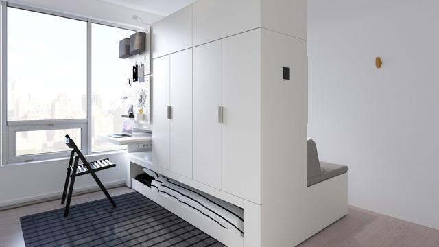Màn biến hóa không tưởng của những nội thất thông minh cho căn nhà nhỏ-4