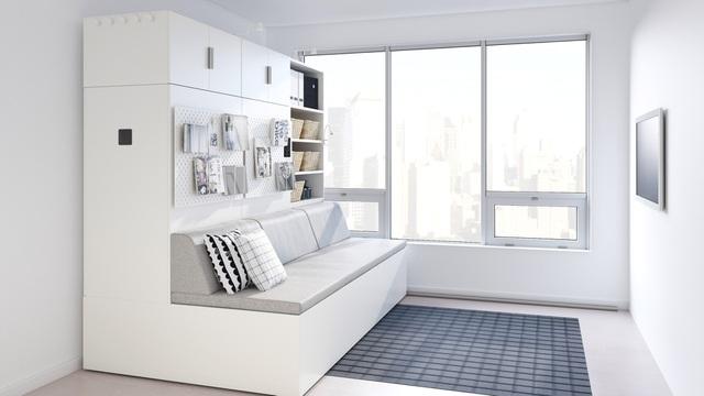 Màn biến hóa không tưởng của những nội thất thông minh cho căn nhà nhỏ-5