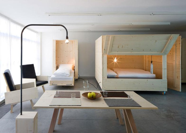 Màn biến hóa không tưởng của những nội thất thông minh cho căn nhà nhỏ-7