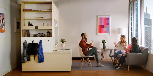 Màn biến hóa không tưởng của những nội thất thông minh cho căn nhà nhỏ-9