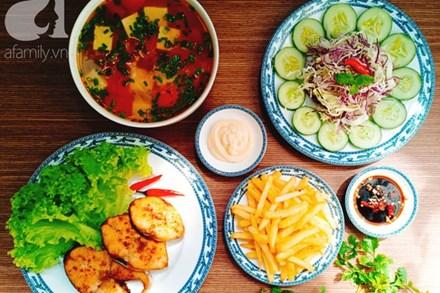 Mâm cơm 4 món nấu nhanh cho những ngày bận rộn