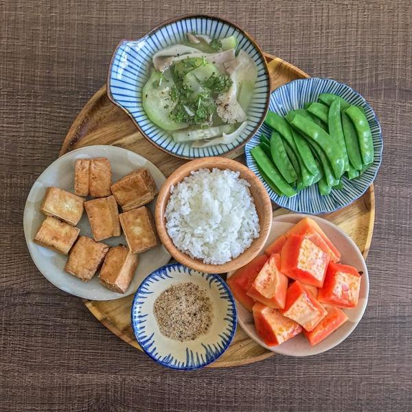 Thực đơn mâm cơm thuần chay dễ chế biến cho người bận rộn-5