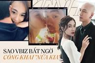 Khi sao Vbiz bất ngờ công khai 'nửa kia': Phương Oanh và bạn trai cực tình, Kathy Uyên yêu bạn thân vợ chồng Hà Tăng sau 7 năm?