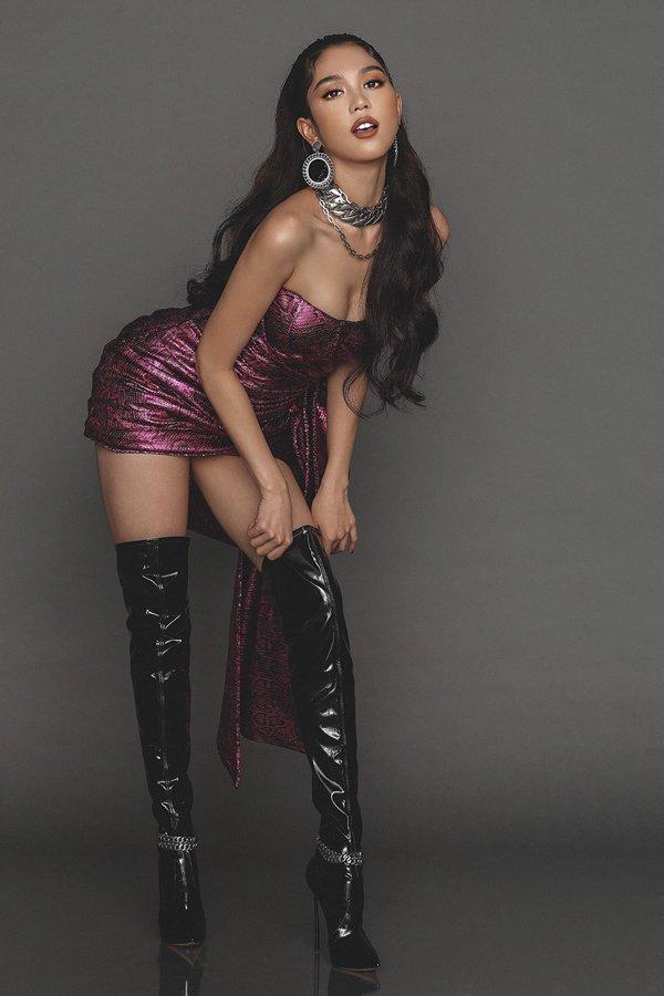 Diện váy gợi cảm, Ngọc Trinh bất cẩn để lộ miếng dán ngực kém tinh tế-3