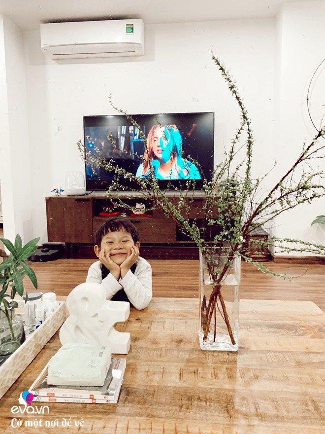 Mẹ Hà Nội tự thiết kế nhà chung cư, ai vào cũng thích thú vì ngỡ như ở trời Âu-4