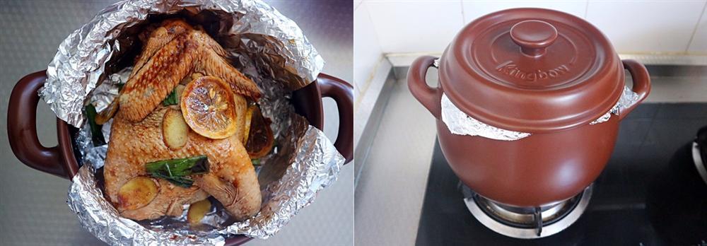 Nhà không có lò nướng mà tôi vẫn làm được món gà nướng cực đỉnh khiến cả nhà tròn mắt kinh ngạc-5