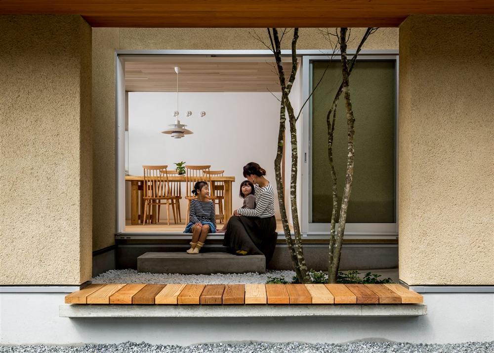 Ngôi nhà bình yên đến nao lòng với khoảng sân vườn thiết kế nghệ thuật đẹp như tranh vẽ ở Nhật-1