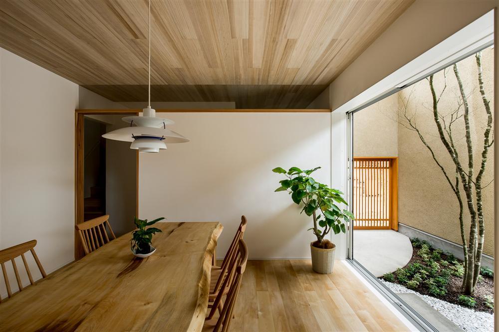 Ngôi nhà bình yên đến nao lòng với khoảng sân vườn thiết kế nghệ thuật đẹp như tranh vẽ ở Nhật-2