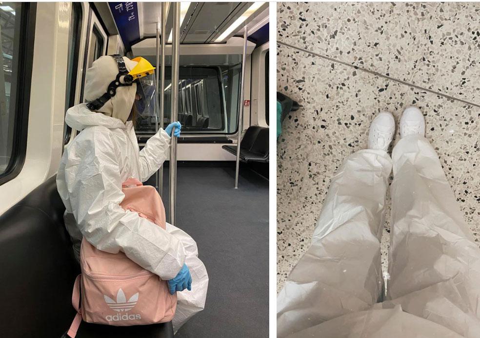 Hành trình lên máy bay về nước tránh dịch của nữ du học sinh Anh: Quay về là do tin vào hệ thống phòng dịch của Việt Nam-2