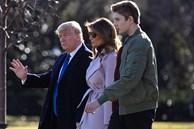 Quý tử Barron Trump cao gần 2m, đón sinh nhật tuổi 14 theo cách đặc biệt giữa thời điểm dịch Covid-19 lan rộng