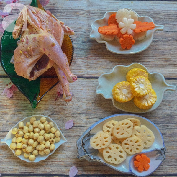 Bồi bổ sức khỏe phòng dịch bệnh với món gà hầm sen ngọt thơm-2