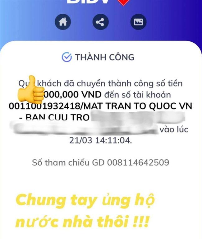 Thiếu gia Phan Thành ủng hộ quỹ chống Covid-19 nhưng che số tiền sau phát ngôn vạ miệng trước đó-1