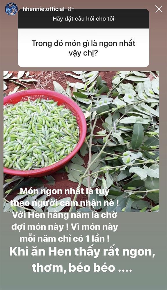 Được hỏi món gì ở quê nhà ngon nhất, HHen Niê đưa một tấm ảnh nhưng nhiều người hết hồn-1