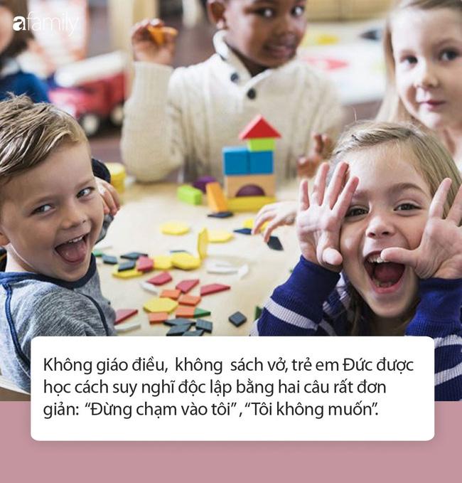 Trường mẫu giáo Đức dạy trẻ suy nghĩ độc lập chỉ bằng hai câu ngắn gọn rất đáng để cha mẹ Việt suy ngẫm-3