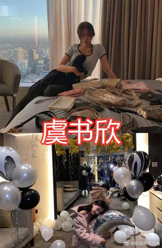 Hé lộ căn hộ Thượng Hải siêu sang của Thánh lố Ngu Thư Hân: Ngập tràn hàng hiệu, không khác gì trung tâm mua sắm-5