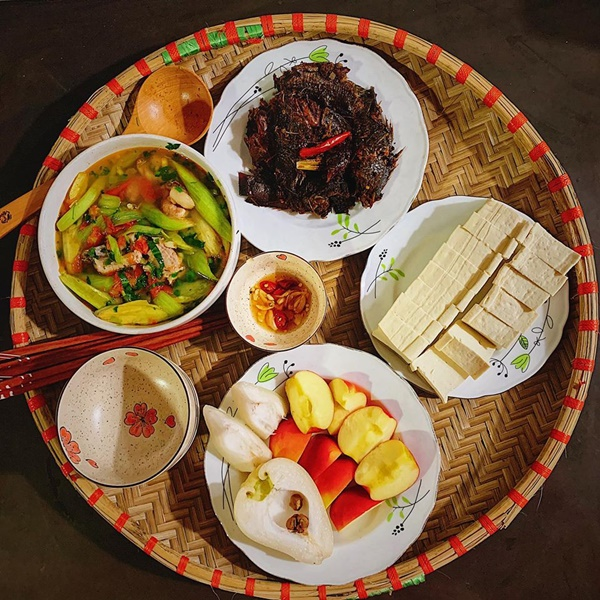 Thực đơn bữa cơm dễ làm, ngon đến miếng cuối cùng cho gia đình 4 người-1