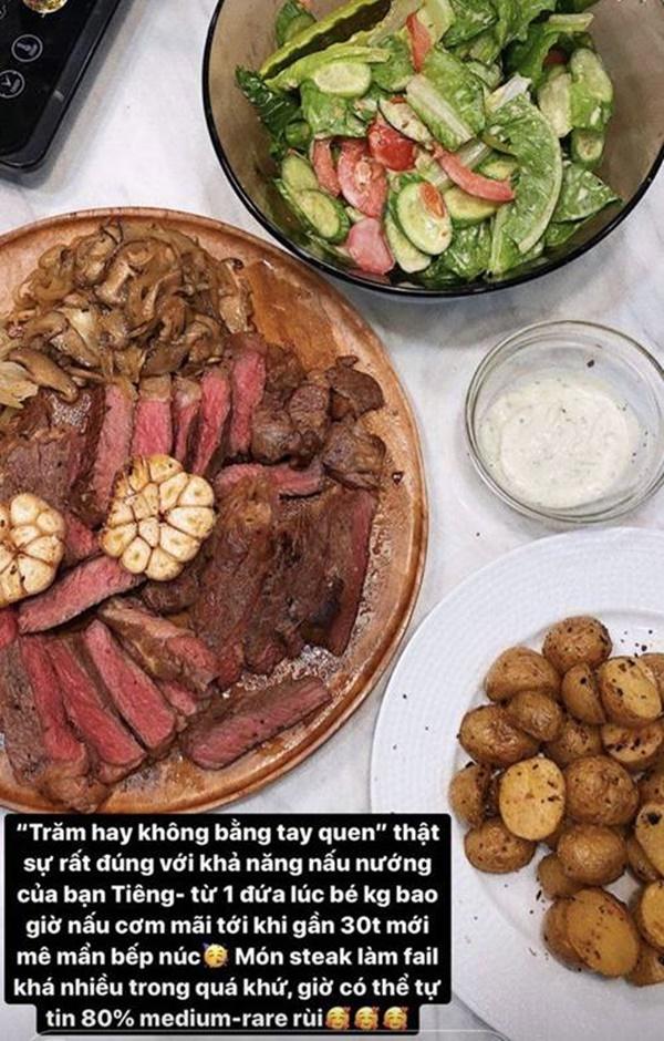 Gần 30 tuổi mới biết nấu ăn, mùa dịch Tóc Tiên ở nhà nâng cao tay nghề làm vợ đảm-2