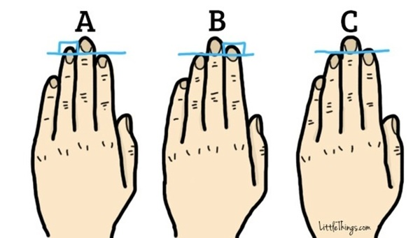 Chiều dài ngón tay tiết lộ điều thú vị trong tính cách bạn-1