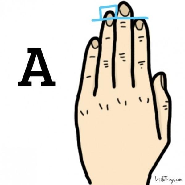 Chiều dài ngón tay tiết lộ điều thú vị trong tính cách bạn-2