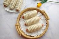 Khỏi lo sáng mai ăn gì với món bánh bao cuộn xúc xích ngon miễn chê