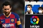La Liga bị hoãn vô thời hạn vì ảnh hưởng của dịch Covid-19