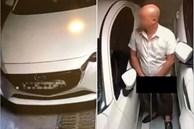 Người đàn ông thản nhiên tiểu bậy ở hầm để xe khiến cả khu chung cư lẫn dân mạng bức xúc