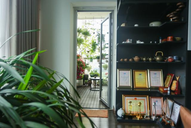 Ngôi nhà với ban công đẹp như cổ tích của nữ nhà báo điều tra nổi tiếng VTV-4