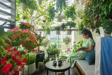 Ngôi nhà với ban công đẹp như cổ tích của nữ nhà báo điều tra nổi tiếng VTV
