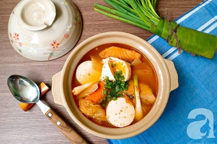 Tôi học được cách nấu canh cá của đầu bếp Hàn Quốc, mẹ chồng xuýt xoa khen ngon