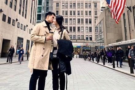 Á hậu Thùy Dung kỷ niệm 2 năm yêu bạn trai soái ca, mùa dịch không gặp nhau nhưng vẫn có quà chúc cực tình