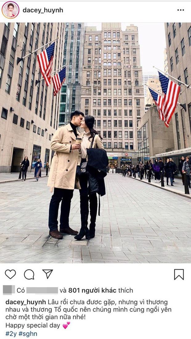 Á hậu Thùy Dung kỷ niệm 2 năm yêu bạn trai soái ca, mùa dịch không gặp nhau nhưng vẫn có quà chúc cực tình-1