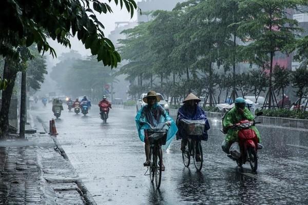 Thời tiết hôm nay 26/3, mưa giông lốc sét bao trùm 3 miền-1