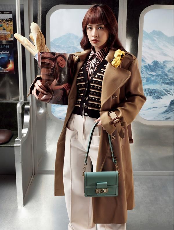 Chi Pu gợi ý bí quyết không chỉ mặc đẹp mà còn cực sang chảnh cho dân văn phòng-4