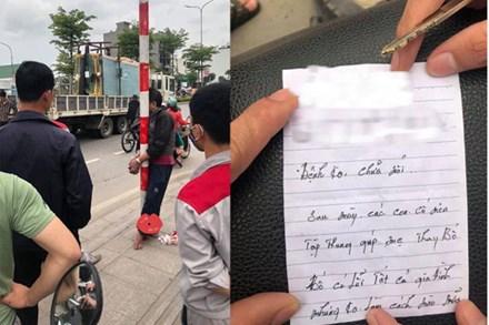 Người đàn ông lao đầu vào ô tô tự tử nhưng bất thành, nội dung bức thư tìm thấy trong túi áo gây xúc động mạnh