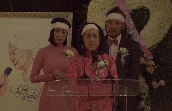 Lễ tang danh ca Thái Thanh: Chỉ có người thân, công chúng chia buồn qua livestream, Ý Lan gục bên quan tài mẹ-2
