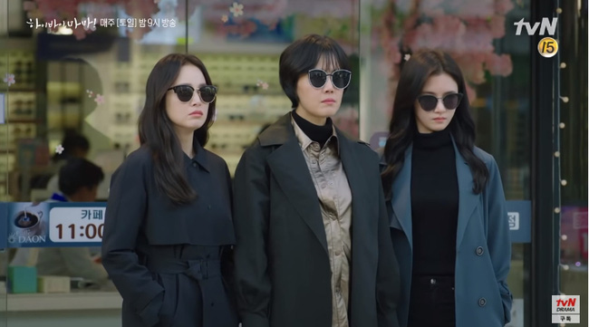 Hi Bye, Mama: Kim Tae Hee hóa chị đại xã hội đen siêu ngầu, đối đầu với thần chết Pyo Chi Su (Crash Landing On You)?-1