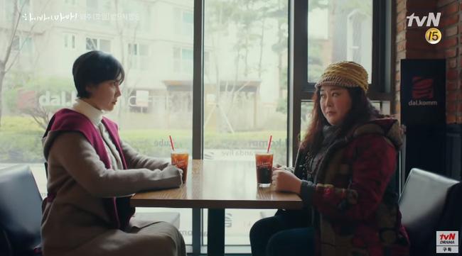 Hi Bye, Mama: Kim Tae Hee hóa chị đại xã hội đen siêu ngầu, đối đầu với thần chết Pyo Chi Su (Crash Landing On You)?-3