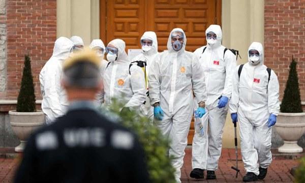 Tây Ban Nha thất thủ vì virus sau 18 ngày, ca tử vong vượt TQ-3