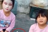 2 cô bé tự trang điểm 'sương sương' cho nhau để đi chơi, thành quả khiến dân mạng cười ngất vì cứ ngỡ Cương thi xuất hiện