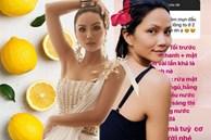 Học Hoa hậu H'Hen Niê trị mụn đầu đen và se khít lỗ chân lông chỉ bằng 1 quả chanh